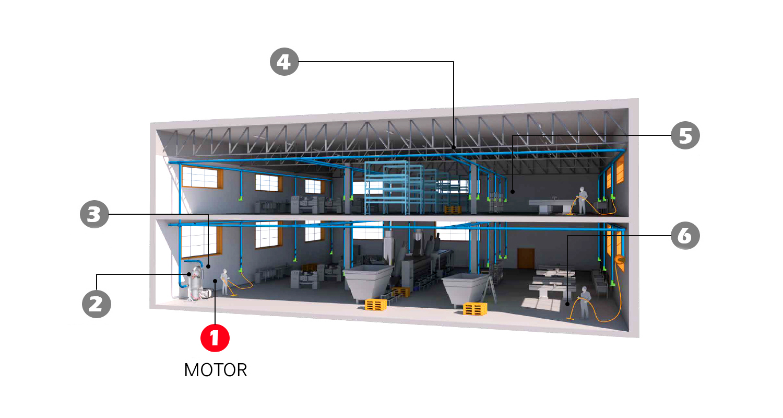 produse-motor-STARVAC-romania-sistem-central-aspirare-industrial